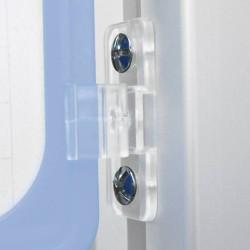Visserie pour fixation sur profile aluminium - la paire