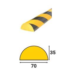 Profilés de protection - Modèle C+ pour surface plane - 1m