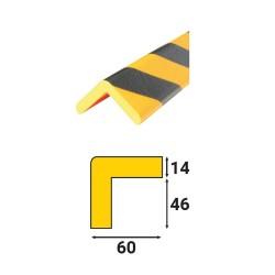 Profilés de protection - Modèle H+ pour angle droit - 1m