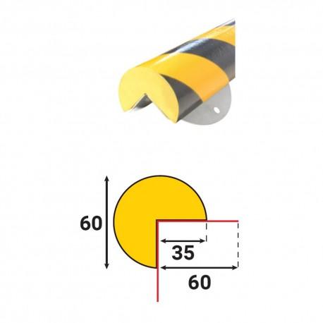 Profilés de protection - Embase métallique - Modèle A+