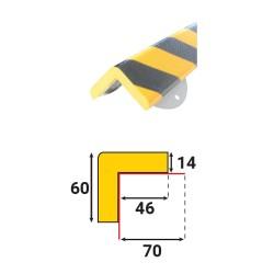 Profilés de protection - Embase métallique - Modèle H+