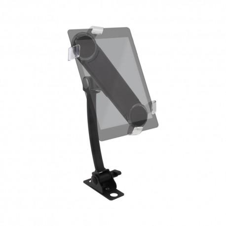 """Support articulé pour tablette 7"""" à 10"""" - Fixation sur profilé aluminium"""