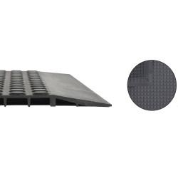 Tapis ergonomique passage de chariot NITRILE - 600 x 900 mm - coloris Noir