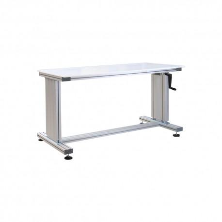 Table de travail ergonomique manuel