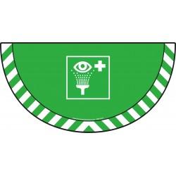 Picto demi cercle Cat.1- visuel E011 - Rinçage des yeux