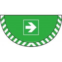 Picto demi cercle Cat.1 - visuel E005 - Flèche
