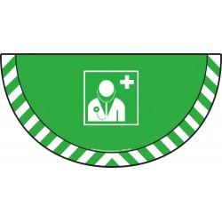 Picto demi cercle Cat.1 - visuel E009 - Médecin