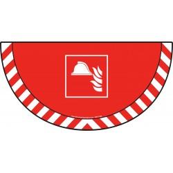 Picto demi cercle Cat.1 - visuel F004 - Equipement de lutte incendie