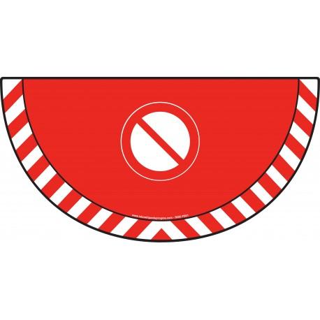 Picto demi cercle Cat.1 - visuel P001 - Interdiction générale