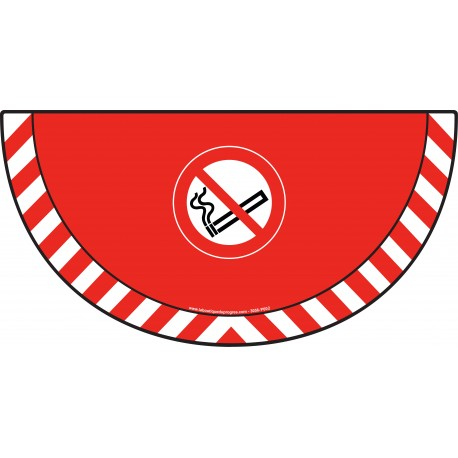 Picto demi cercle Cat.1 - visuel P002 - Interdiction de fumer