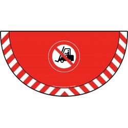 Picto demi cercle Cat.1 - visuel P006 - Interdit aux véhicules industriels