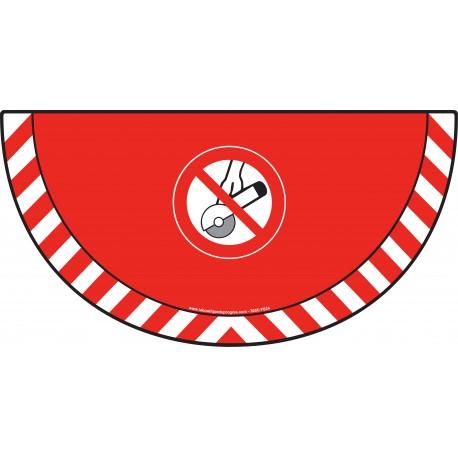Picto demi cercle Cat.1 - visuel P034 - Interdiction d'utiliser une meuleuse portative