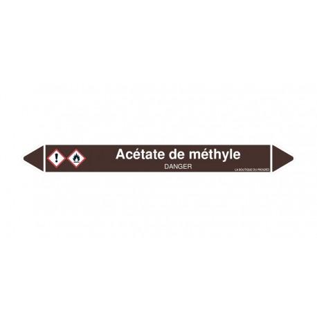Marqueurs Tuyaux - Acétate de méthyle