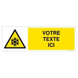 W010 - Danger conditions de gel