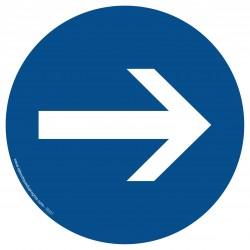 R001 - Obligation de tourner à droite