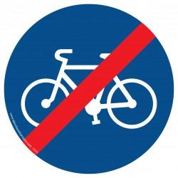 R006 - Fin de piste obligatoire pour les cycles