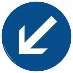 R004 - Contournement obligatoire par la gauche