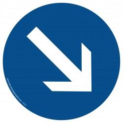 R003 - Contournement obligatoire par la droite