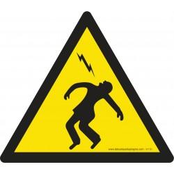W150 - Danger haute tension
