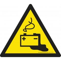 Pictogramme Danger charge de la batterie en cours W026