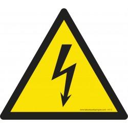 Pictogramme Danger électricité W012