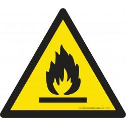 Pictogramme Danger matières inflammables W021