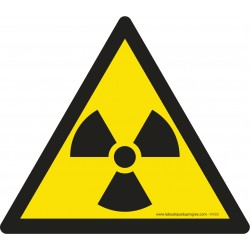 Pictogramme Danger matières radioactives W003