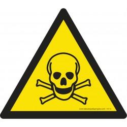 Pictogramme Danger matières toxiques W016