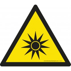 Pictogramme Danger attention au bruit W038