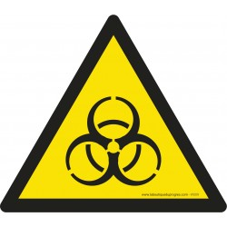 Pictogramme Danger risque biologique W009