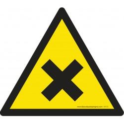 Pictogramme Danger matières nocives ou irritantes W151