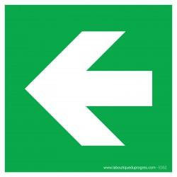 Pictogramme Flèche gauche E052