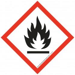 Pictogramme règlementation CLP Matières inflammables GSH02