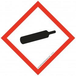 Pictogramme règlementation CLP Gaz sous pression GHS04