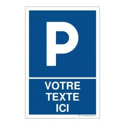 R009 - Parking + Texte