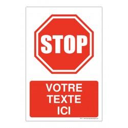 R012 - Interdit d'avancer sans marquer l'arrêt + Texte