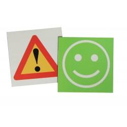Smiley Vert-Danger
