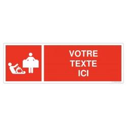 Couverture anti-feu + Texte