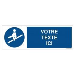 M012 - Utiliser la main courante + Texte