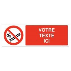 P002 - Interdiction de fumer + Texte