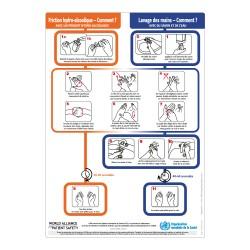 Panneau lavage mains - Visuel HYG042
