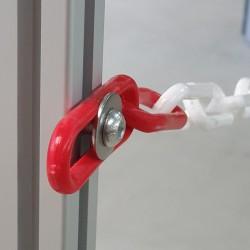 Visserie pour fixation de chaînette sur profilé aluminium - l'unité