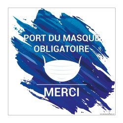 Pictogramme obligation Port du Masque Fun 3 - HYG903
