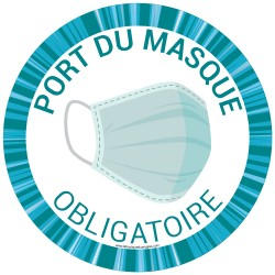 Pictogramme obligation Port du Masque Fun 2 - HYG902