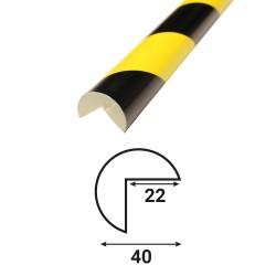 Profilé anti-chocs angle A1 - 1.20 m