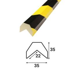 Profilé anti-chocs angle A3 - 1.20 m