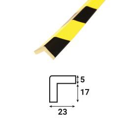 Profilé anti-chocs angle A4 - 1.20 m