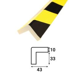 Profilé anti-chocs angle A5 - 1.20 m