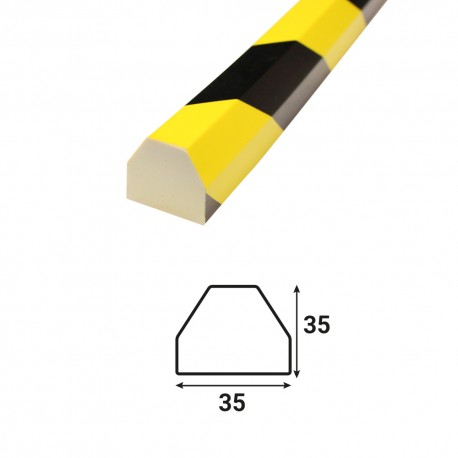 Profilé anti-chocs surface plane S2 - 1.20 m