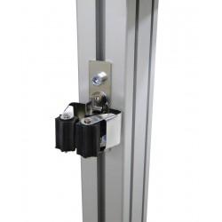 Clip porte balai pour profilé aluminium